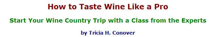 Tasting like a pro header on travelladay