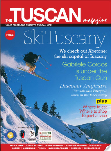 Tuscan Living Magazine logo winter 2010