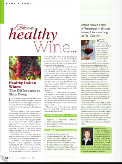 Healthy wine article small image