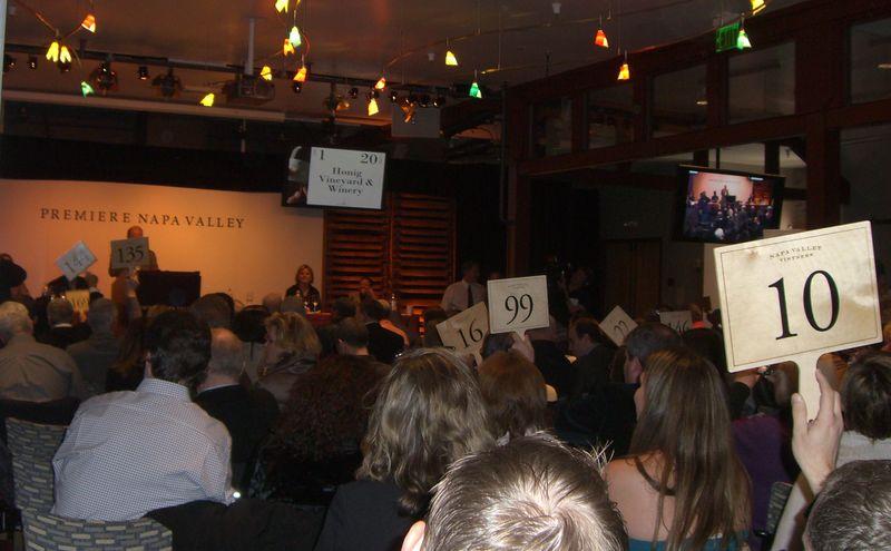 Premiere Napa Valley auction 2011