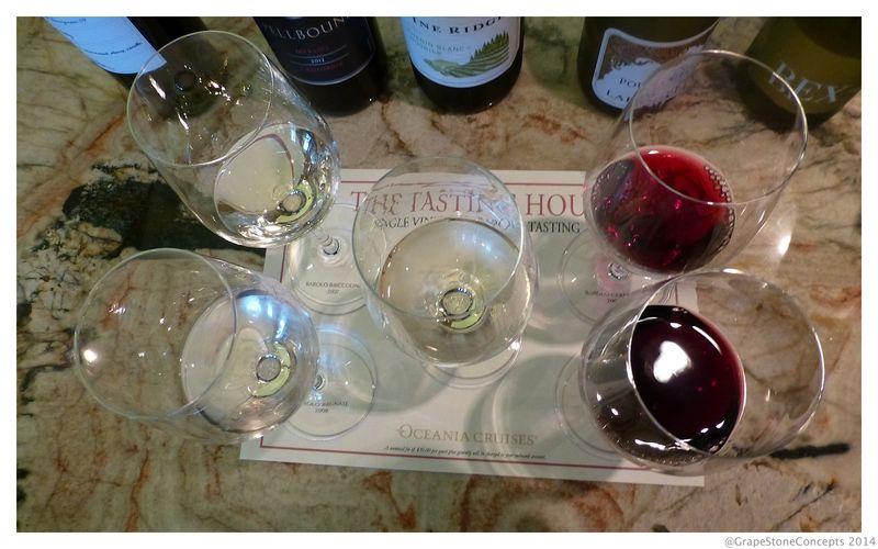 Wine tasting 2 oceania 2014