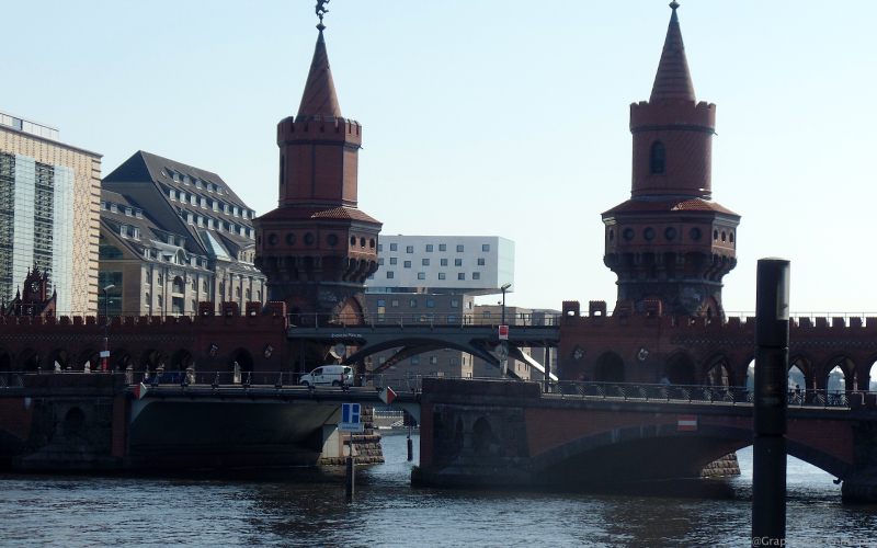 Oberbaum Bridge Berlin 2017