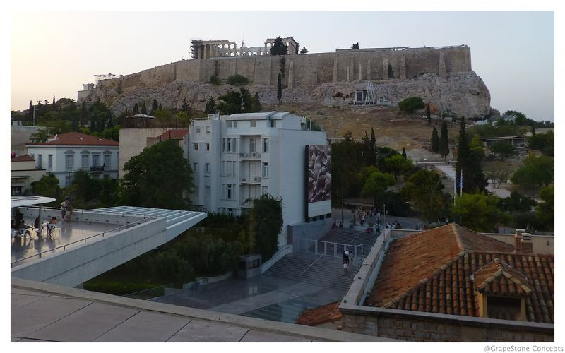 Athens Acropolis is daylight
